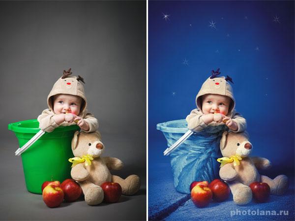 креативная обработка фото