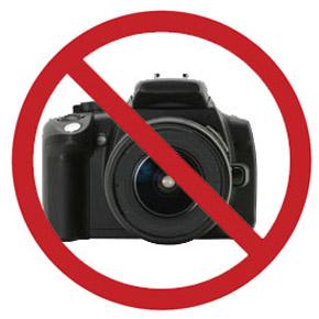 О запрете на фотосъемку в общественных местах