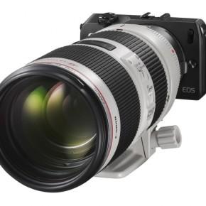 Беззеркалка от  Canon Eos M