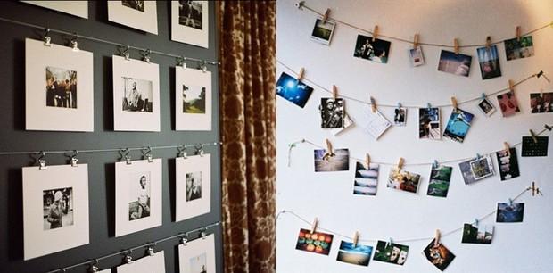Фото на стену в комнате своими руками