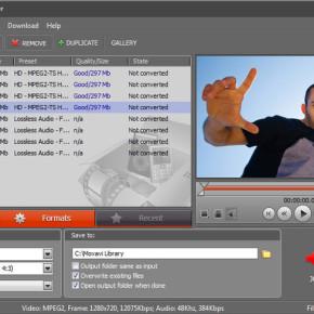 Конвертер видео Movavi