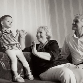 Семейная история за щелчком объектива